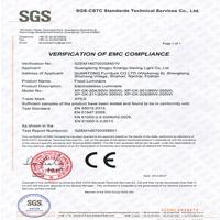 星普CE整灯证书