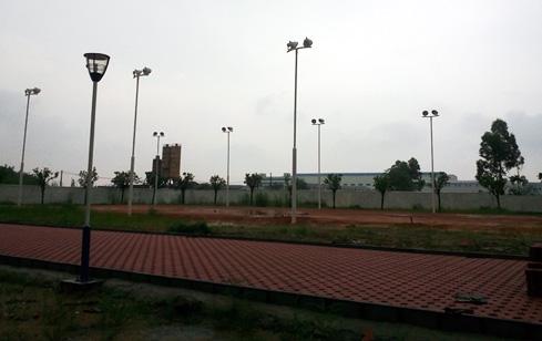 海天酱油厂员工运动场